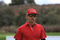 Rafa Cabrera Bello (ESP) on the 13th tee during Round 2 of the Open de Espana 2018 at Centro Nacional de Golf on Friday 13th April 2018.<br /> Picture:  Thos Caffrey / www.golffile.ie<br /> <br /> All photo usage must carry mandatory copyright credit (&copy; Golffile | Thos Caffrey)