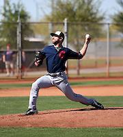 Rob Kaminsky - Cleveland Indians 2016 spring training (Bill Mitchell)
