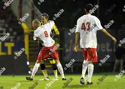 2010-08-25 / Voetbal / seizoen 2010-2011 / R. Antwerp FC - Rupel-Boom / Vreugde bij Antwerp..Foto: Mpics