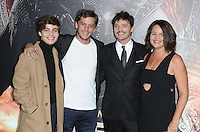 www.acepixs.com<br /> <br /> February 15 2017, LA<br /> <br /> Pedro Pascal and family arriving at the premiere of 'The Great Wall' at the TCL Chinese Theatre on February 15, 2017 in Hollywood, California. <br /> <br /> By Line: Peter West/ACE Pictures<br /> <br /> <br /> ACE Pictures Inc<br /> Tel: 6467670430<br /> Email: info@acepixs.com<br /> www.acepixs.com