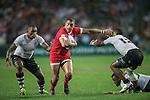 Fiji vs Canada during the HSBC Hong Kong Rugby Sevens 2016 on 08 April 2016 at Hong Kong Stadium in Hong Kong, China. Photo by Li Man Yuen / Power Sport Images
