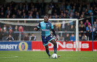 Aaron Pierre of Wycombe Wanderers during the Sky Bet League 2 match between Wycombe Wanderers and Barnet at Adams Park, High Wycombe, England on 22 October 2016. Photo by Andy Rowland.