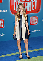 LOS ANGELES, CA. November 05, 2018: Isabella Crovetti at the world premiere of &quot;Ralph Breaks The Internet&quot; at the El Capitan Theatre.<br /> Picture: Paul Smith/Featureflash
