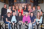 Night Out<br /> -----------<br /> Staff from Fatima Home,Tralee got together in the Brogue,Tralee last Friday night for a bit of fun (seated)L-R Debbie O'Donnell,Sr Theresa McEvoy,Mary Murrey,Sr Bridget Kelly,Margaret Wharton&amp;Ciara McDonald(back)L-R Gabriela Latowicka,Karen stack,Theresa Kelly,Sinead Mangon,Helen Lyons,Elaine Cremins,Dobler,Nora Kearney&amp;Mary Healy.