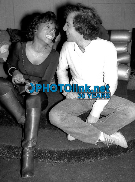 Stephanie Mills Steve Rubell Studio 54 1978<br /> Photo By Adam Scull/PHOTOlink.net