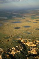 Playa Lakes aerial<br /> Texas Panhandle, Brisco County<br /> 34 29 41.16 N  101 09 08.46 W.