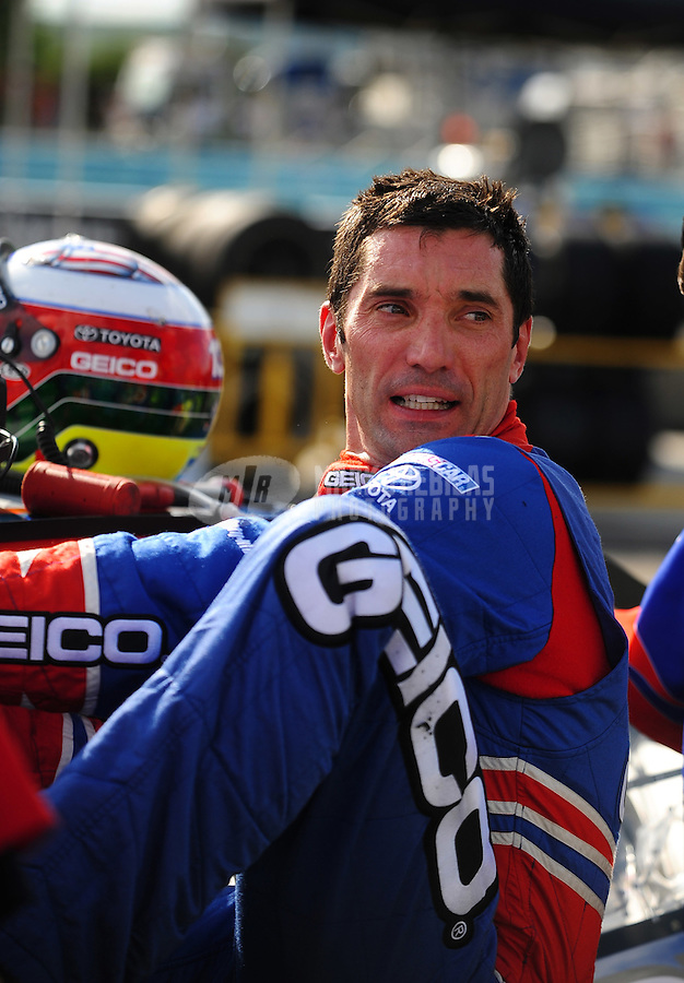 Aug. 7, 2009; Watkins Glen, NY, USA; NASCAR Sprint Cup Series driver Max Papis during qualifying for the Heluva Good at the Glen. Mandatory Credit: Mark J. Rebilas-