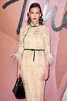 Alexa Chung<br /> at the Fashion Awards 2016, Royal Albert Hall, London.<br /> <br /> <br /> &copy;Ash Knotek  D3210  05/12/2016