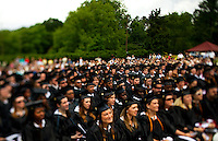 Belmont Abbey College Graduation 2009 in Belmont North Carolina, near Charlotte, NC.