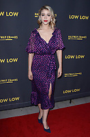 "Caylee Cowan<br /> at the ""Low Low"" Los Angeles Premiere, Arclight, Hollywood, CA 08-15-19<br /> David Edwards/DailyCeleb.com 818-249-4998"