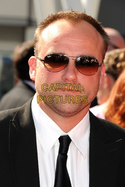 David DeLuise.2012 Creative Arts Emmy Awards - Arrivals held at the Nokia Theatre L.A. Live, - Los Angeles, California, USA, 15th September 2012..emmys portrait headshot sunglasses suit tie .CAP/ADM/BP.©Byron Purvis/AdMedia/Capital Pictures.