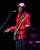FORT LAUDERDALE FL - APRIL 08: Buddy Guy performs at The Broward Center on April 8, 2018 in Fort Lauderdale, Florida. : Credit Larry Marano © 2018