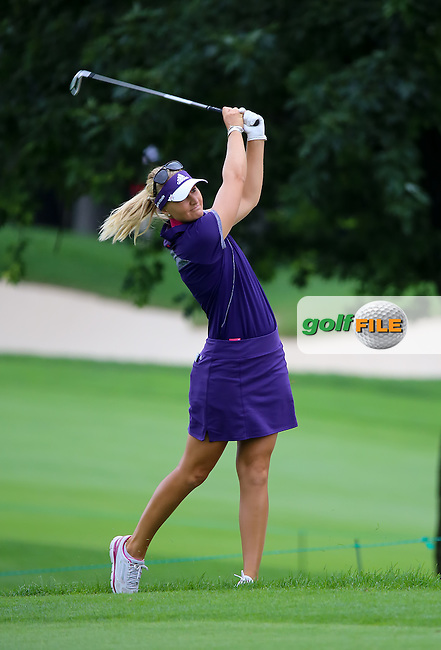 24 August 14  Sweden's Anna Nordquist during Sundays Final Round of The CP Women's Open at The London Hunt and Country Club in London, Ontario, Canada.(photo credit : kenneth e. dennis/kendennisphoto.com)