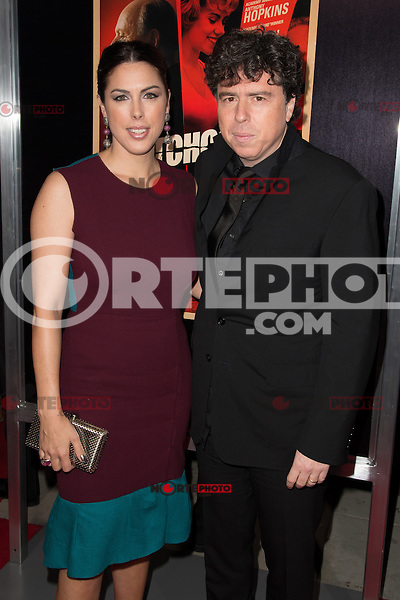 "November 20, 2012 - Beverly Hills, California - Jessica de Rothschild and Sacha Gervasi at the ""Hitchcock"" Los Angeles Premiere held at the Academy of Motion Picture Arts and Sciences Samuel Goldwyn Theater. Photo Credit: Colin/Starlite/MediaPunch Inc /NortePhoto"
