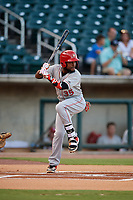 Chattanooga Lookouts Alfredo Rodriguez (35) at bat during a Southern League game against the Birmingham Barons on July 24, 2019 at Regions Field in Birmingham, Alabama.  Chattanooga defeated Birmingham 9-1.  (Mike Janes/Four Seam Images)