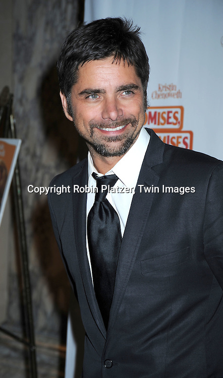 """actor John Stamos arriving at The Broadway Opening Night party of the revival of """"Promises, Promises"""" on April  25, 2010 at The Plaza Hotel  in New York City."""