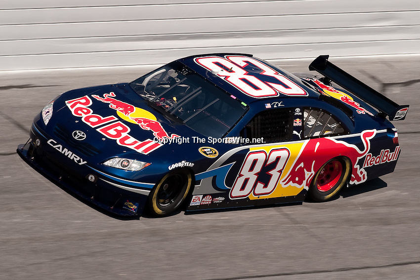 Feb 08, 2009; 1:28:27 PM; Daytona Beach, FL, USA; NASCAR Sprint Cup Series qualifying for the Daytona 500 at Daytona International Speedway.  Mandatory Credit: (thesportswire.net)