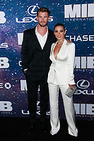 NEW YORK, NY - JUNE 11: Chris Hemsworth and Elsa Pataky at World Premiere of Men in Black International at AMC Lincoln Square on June 11, 2019 in New York City. <br /> CAP/MPI99<br /> ©MPI99/Capital Pictures