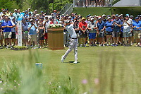 Adam Scott (AUS) watches his tee shot on 1 during round 1 of the AT&amp;T Byron Nelson, Trinity Forest Golf Club, at Dallas, Texas, USA. 5/17/2018.<br /> Picture: Golffile | Ken Murray<br /> <br /> <br /> All photo usage must carry mandatory copyright credit (&copy; Golffile | Ken Murray)