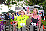 Susan Barrett and Irene Nagle who took part in the Killarney Women's Mini Marathon on Saturday last.