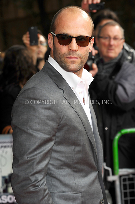 WWW.ACEPIXS.COM . . . . .  ..... . . . . US SALES ONLY . . . . .....April 30 2012, London....Jason Statham at the premiere of 'Safe' at the BFI IMAX on April 30 2012 in London ....Please byline: FAMOUS-ACE PICTURES... . . . .  ....Ace Pictures, Inc:  ..Tel: (212) 243-8787..e-mail: info@acepixs.com..web: http://www.acepixs.com