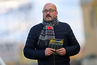 Mark Clemmit of BBC Sport during Cambridge United vs Sutton United , Emirates FA Cup Football at the Cambs Glass Stadium on 5th November 2017