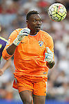Malaga's Carlos Kameni during La Liga match. September 26,2015. (ALTERPHOTOS/Acero)