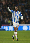 Steve Mounie of Huddersfield Town  during the premier league match at the John Smith's Stadium, Huddersfield. Picture date 12th December 2017. Picture credit should read: Simon Bellis/Sportimage