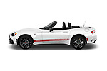 Car Driver side profile view of a 2018 Fiat 124-Spider Abarth 2 Door Convertible Side View
