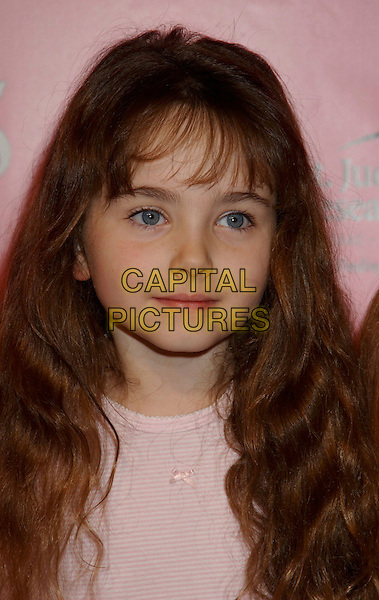 STELLA RITTER .The Princess Diaries 2 DVD Pajama Ball benefiting St. Jude Children's Research Hospital held at the Beverly Hilton Hotel, Beverly Hills, California, USA, .8th December 2004..portrait headshot .Ref: ADM.www.capitalpictures.com.sales@capitalpictures.com.©L.Farr/AdMedia/Capital Pictures .