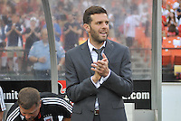 D.C. United head coach Ben Olsen. The New England Revolution defeated D.C. Untied 2-1, at RFK Stadium, Saturday July 27 , 2013.
