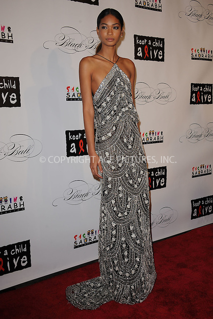WWW.ACEPIXS.COM . . . . . .November 3, 2011, New York City....Chanel Iman attends the 8th annual Keep A Child Alive Black Ball at the Hammerstein Ballroom on November 3, 2011 in New York City....Please byline: KRISTIN CALLAHAN - ACEPIXS.COM.. . . . . . ..Ace Pictures, Inc: ..tel: (212) 243 8787 or (646) 769 0430..e-mail: info@acepixs.com..web: http://www.acepixs.com .