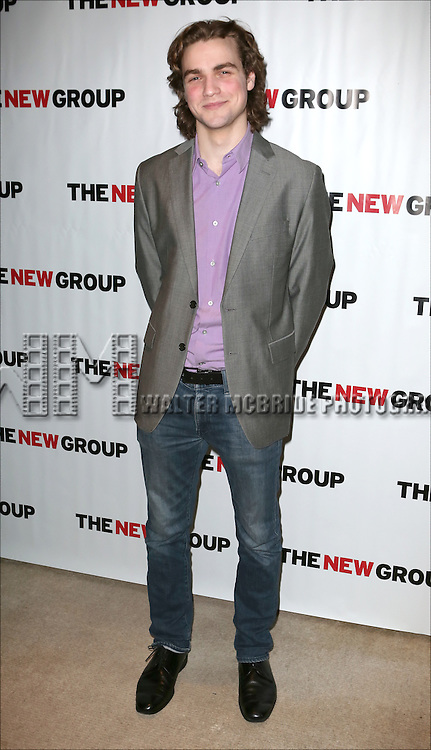 Austin Cauldwell attends the Opening Night party for the New Group's production of 'Intimacy' at Rosebud Lounge on January 29, 2014 in New York City.