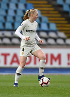 20190113 - LILLE , FRANCE : PSG's Paulina Dudek pictured during women soccer game between the women teams of Lille OSC and Paris Saint Germain  during the 16 th matchday for the Championship D1 Feminines at stade Lille Metropole , Sunday 13th of January 2019,  PHOTO Dirk Vuylsteke | Sportpix.Be