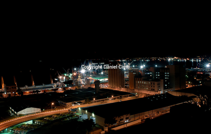 Night view of the port in Salvador, Bahia.Brazil 2008 #2