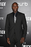 "Lance Reddick at the World Premiere of ""John Wick: Chapter 3 Parabellum"", held at One Hanson in Brooklyn, New York, USA, 09 May 2019<br /> CAP/ADM/LJ<br /> ©LJ/ADM/Capital Pictures"