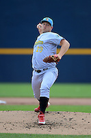 Reading Fightin Phils pitcher Seth Rosin #29 during a game against the Trenton Thunder on July 8, 2013 at Arm & Hammer Park in Trenton, New Jersey.  Trenton defeated Reading 10-6.  (Mike Janes/Four Seam Images)