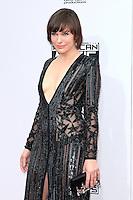 LOS ANGELES - NOV 20: Milla Jovovich at the 2016 American Music Awards at Microsoft Theater on November 20, 2016 in Los Angeles, California