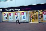 Superdrug chemist shop, Ipswich, Suffolk, England