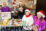 Oilean Beo Craft Co-op part of St John Of God's Kerry ,come along and call all welcome to visit and buy Christmas Cards or Christmas Decorations. Open Monday to Friday from 10-4pm daily.  Pictured l-r  Sean Hanley, Margaret Enright,  Lisa Cronin, Mary Nelligan and Mary Clare McCarthy.