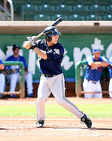 John Delaney / Helena Brewers in action against the Ogden Raptors in a Pioneer League game in Ogden, UT - 08/10/2008..Photo by:  Bill Mitchell/Four Seam Images