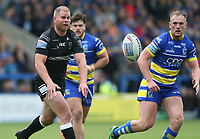 Hull FC's Danny Washbrook <br /> <br /> Photographer Stephen White/CameraSport<br /> <br /> Betfred Super League Round 15 - Warrington Wolves v Hull FC - Saturday 18th May 2019 - Halliwell Jones Stadium - Warrington<br /> <br /> World Copyright © 2019 CameraSport. All rights reserved. 43 Linden Ave. Countesthorpe. Leicester. England. LE8 5PG - Tel: +44 (0 116 277 4147 - admin@camerasport.com - www.camerasport.com