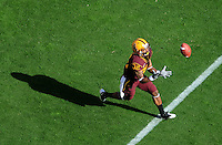Nov. 28, 2009; Tempe, AZ, USA; Arizona State Sun Devils wide receiver (32) Jamal Miles against the Arizona Wildcats at Sun Devil Stadium. Arizona defeated Arizona State 20-17. Mandatory Credit: Mark J. Rebilas-