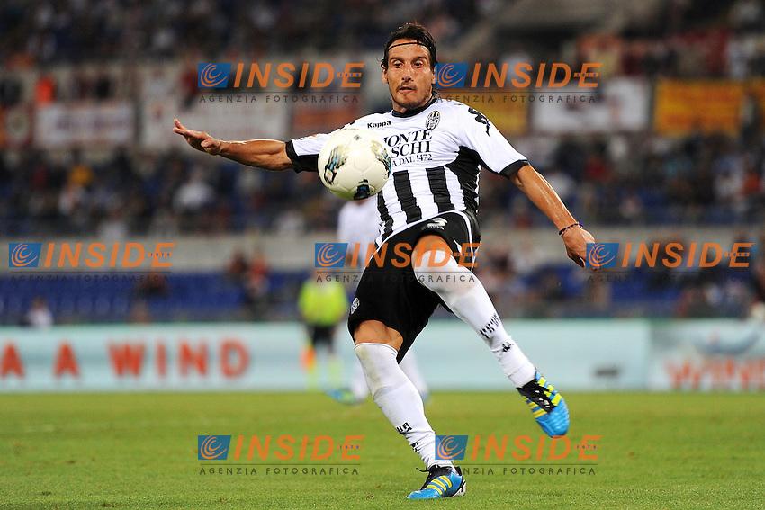 "Cristiano Del Grosso Siena.Roma 22/9/2011 Stadio ""Olimpico"".Football Calcio Serie A 2011/2012.Roma Vs Siena.Foto Insidefoto Antonietta Baldassarre"