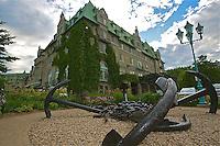A- Fairmont Le Manoir Richelieu Exterior, Charlevoix Quebec CA 7 14