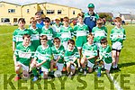 The Legion team with their coachs Donal Hegarty and Brian Looney that played in the Dylan Crowley Football tournament in Gneeveguilla on Sunday
