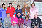 PARADE: Having a god time at the Causeway Fleadh Ceoil, Parade on Thuresday evening, Front l-r: Gerard McGrath, Marissa hanly, Brendan Smith, Una McGrath and Patrick Dineen. Back l-r: Nuala Hanly, Kathleen Barrett, Phyl Daughton, Caroline Dineen and Dolores Harrington. (Causeway)......
