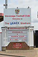 during Stevenage vs Tranmere Rovers, Sky Bet EFL League 2 Football at the Lamex Stadium on 4th August 2018