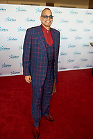 "ST. PAUL, MN JULY 16: 2016 Comedian & gala emcee Sinbad poses on the red carpet at the Starkey Hearing Foundation ""So The World May Hear Awards Gala"" on July 16, 2017 in St. Paul, Minnesota. Credit: Tony Nelson/Mediapunch"
