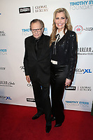 BEVERLY HILLS, CA - NOVEMBER 11: Larry King, Shawn King, at AMT's 2017 D.R.E.A.M. Gala at The Montage Hotel in Beverly Hills, California on November 11, 2017.  <br /> CAP/MPI/FS<br /> &copy;FS/MPI/Capital Pictures